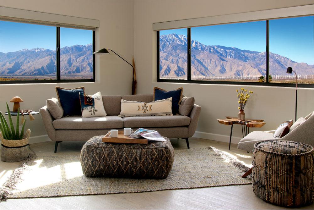 Palm Springs mountain views