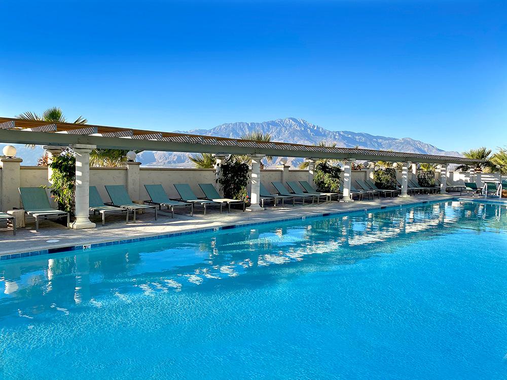 Azure Palm Hot Springs Swimming Pool